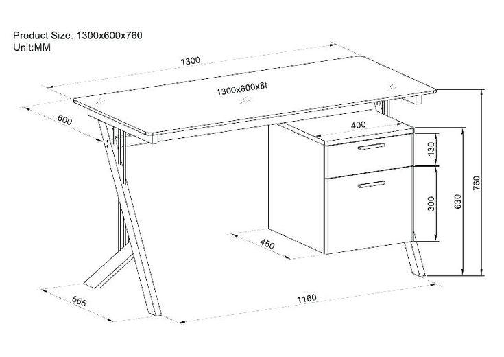 standard office desk dimensions height of an office desk