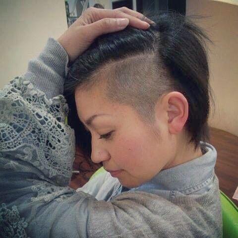 Pin Su Hair Dare Undercuts And Sidecuts