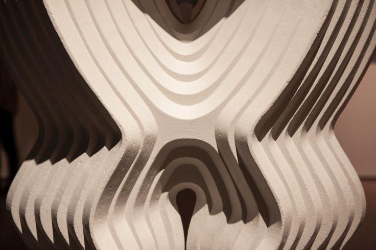 """Vista de la exposición """"Roca Negra"""", de Federico Assler, en el Centro de las Artes 660, CorpArtes, Santiago de Chile, 2017. Foto: Sebastián Mejía"""