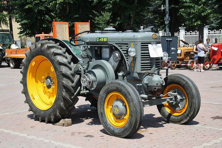 2° Raduno trattori d'epoca Ovada - Landini 45
