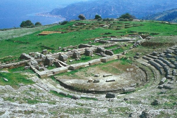 Ancient Theater of Aigeira
