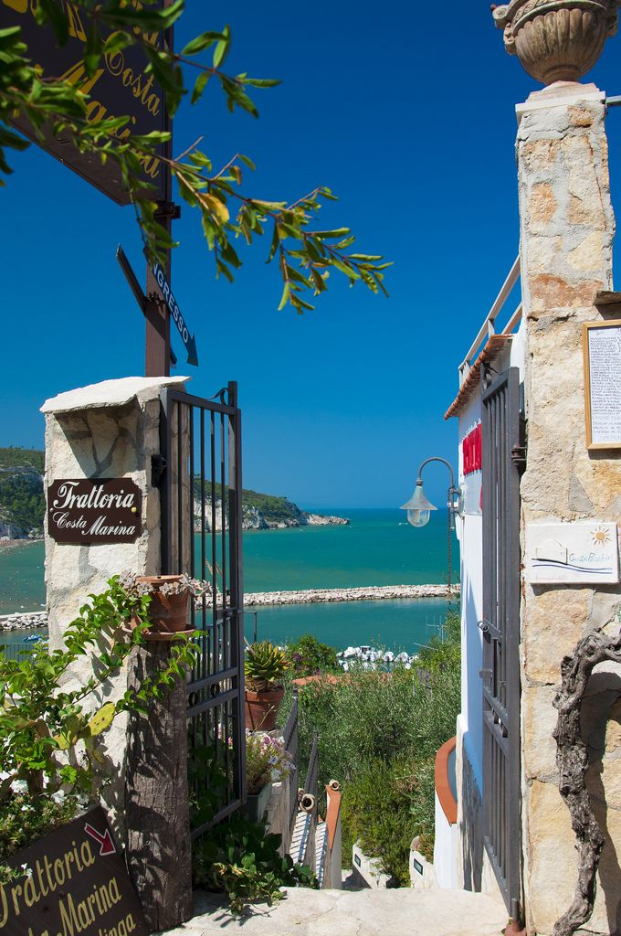 Trattoria Costa Marina, Peschici, Puglia, Italy