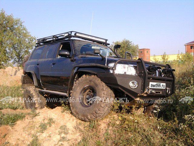 Nissan Patrol: большой машине - большие колеса