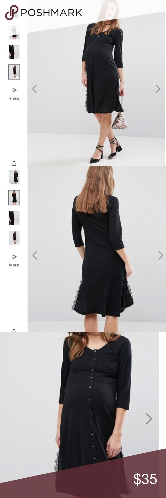 1721 best my posh picks images on pinterest asos maternity summer sale nwt comfy maternity dress size 4 cotton black color dress ombrellifo Image collections