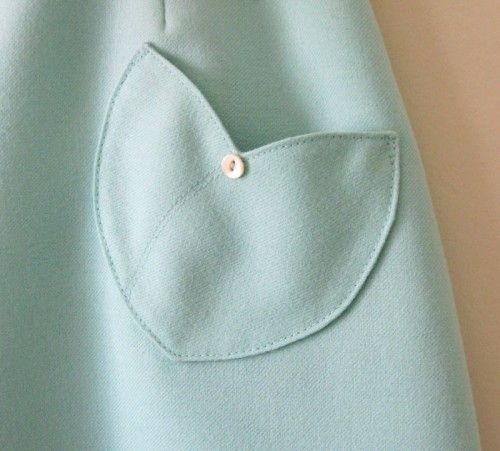 Tulip Pocket Skirt {Detail}