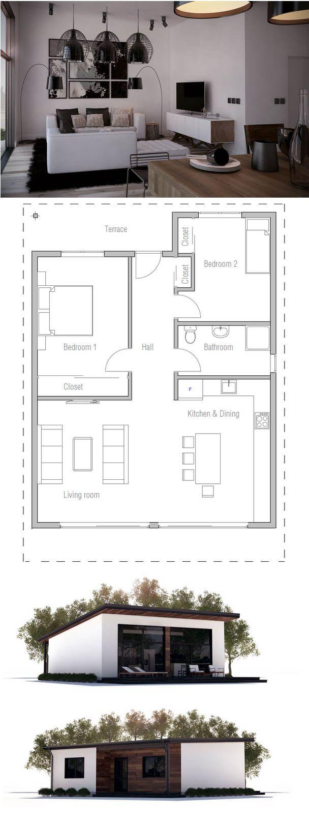85 best architecture house plan images on pinterest planta de casa