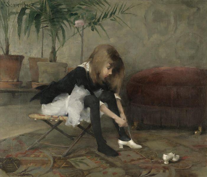 Helene Schjerfbeck (July 10, 1862 – January 23, 1946)  Finnish painter.