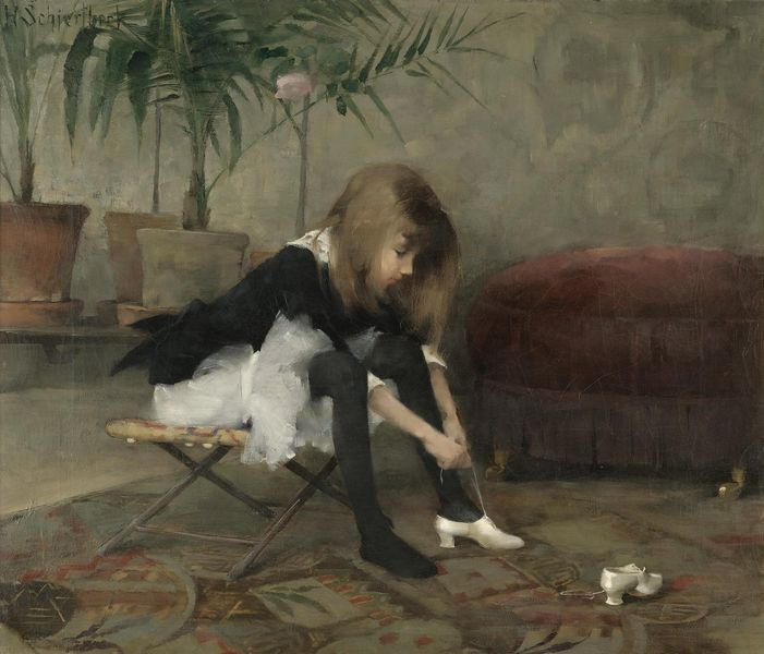 Helene Schjerfbeck (July 10, 1862 – January 23, 1946)  Finnish painter.