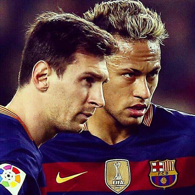 Leo Messi y Neymar jr