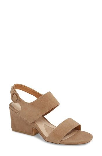 0bd86788cb1 Free shipping and returns on Isola Landra Block Heel Sandal (Women) at  Nordstrom.com. A chunky wrapped heel provides stable lift to a  quarter-strap sandal ...