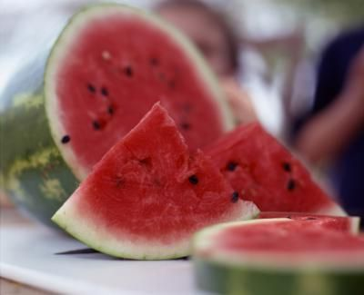 Harvest seeds from a ripe watermelon to start your watermelon plot.