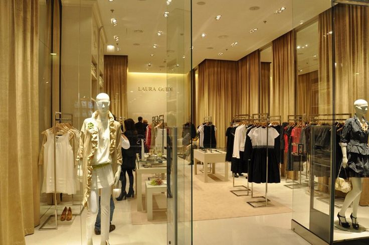Laura Guidi flagship boutigue in Warsaw, Poland (Galeria Mokotów Shopping Mall)