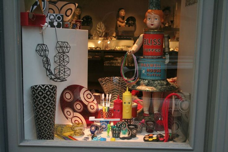 ARTEL Celetna window display - featuring our modern Graphic Collection