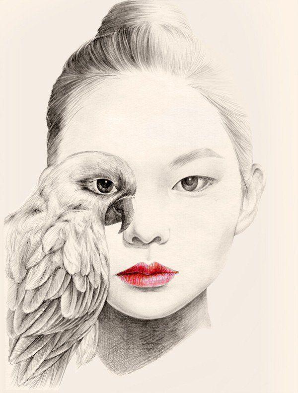 Whimsical Drawings by OkArt