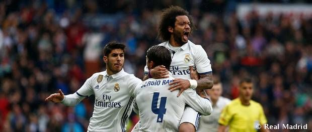 2-1: No let-up from Real Madrid in quest for LaLiga crown