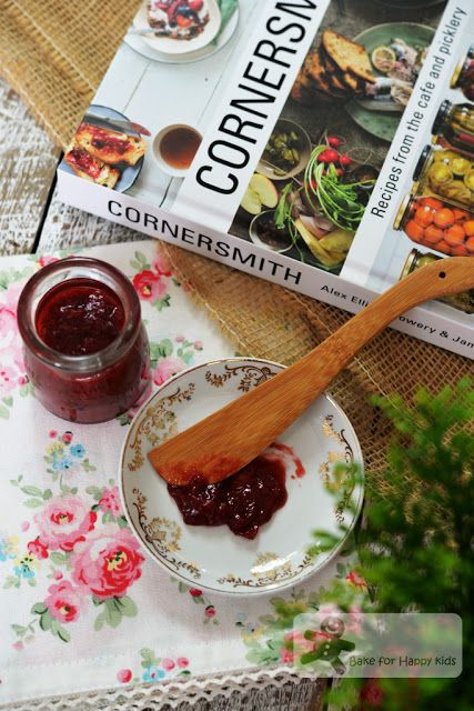 strawberry rhubarb rose jam cornersmith