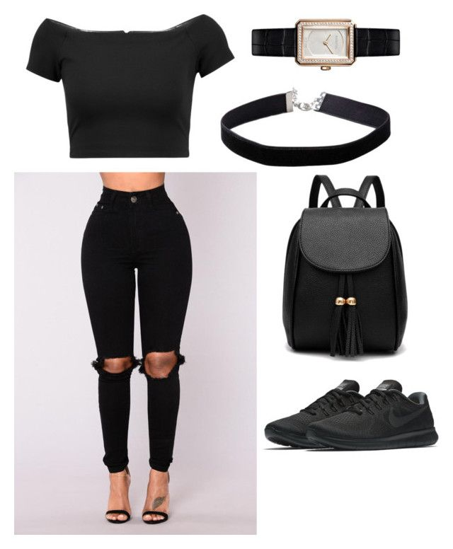 Teen Swag (Volume 1) by piercerenijha on Polyvore featuring polyvore Alice + Olivia NIKE Miss Selfridge Chanel fashion style clothing