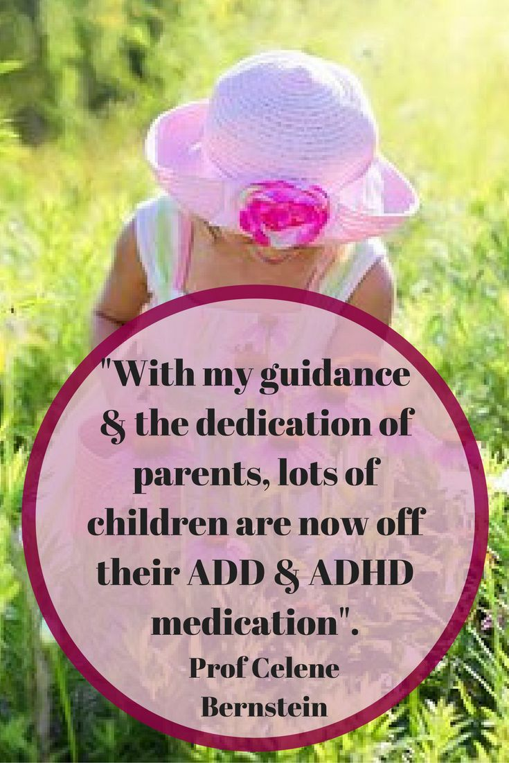 Yes, getting your child off the dreaded ADD/ADHD medication is a definite possibility!!   Get your Free Prof Celene's Plan to Balance your child's Moods and Improve their Concentration on my Blog Post.