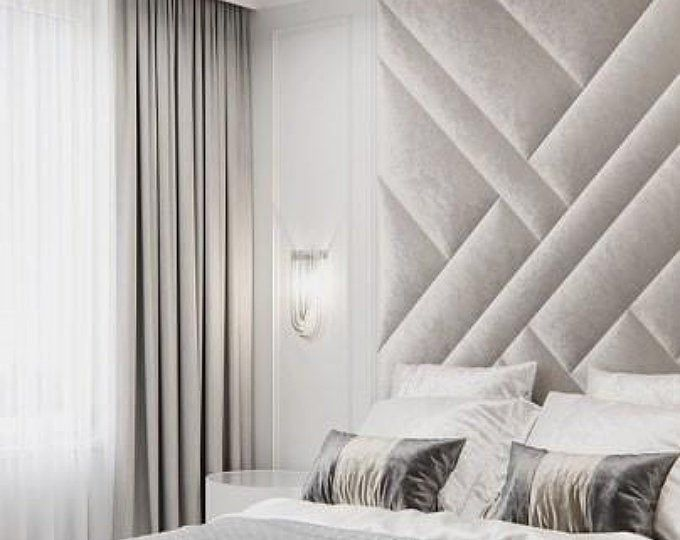 Upholstered Wall Panels Scattered Upholstered Walls Padded