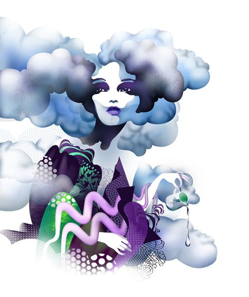Airy Aquarius - yes it maybe the water bearer but we're an Air sign :)