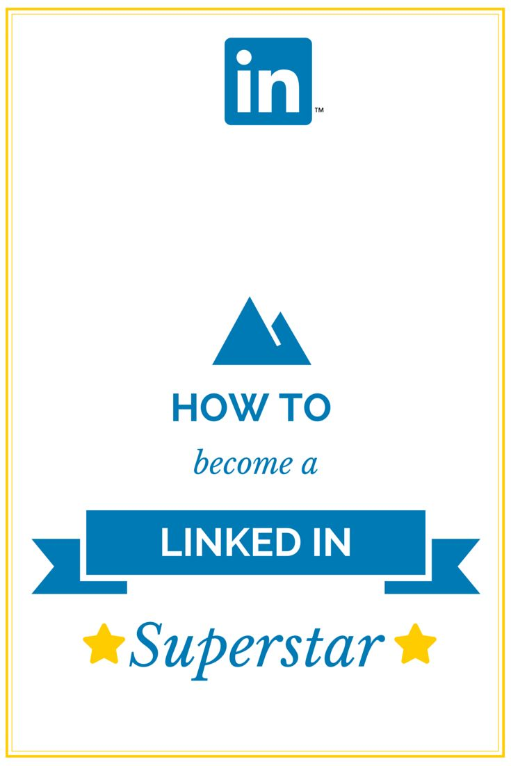 How to become a #LinkedIn Networking Superstar! LinkedIn isn't just for job seekers - brands will research LinkedIn profiles before working with bloggers and social media pros. http://rebekahradice.com/use-linkedin-to-become-a-networking-superstar/ #socialmedia