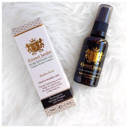 My absolute favourite serum is from Kismet Jardin, a natural and organic company that uses green chemistry to create their products. Bonus? It also doubles up as a makeup primer to protect your skin from comsetic products