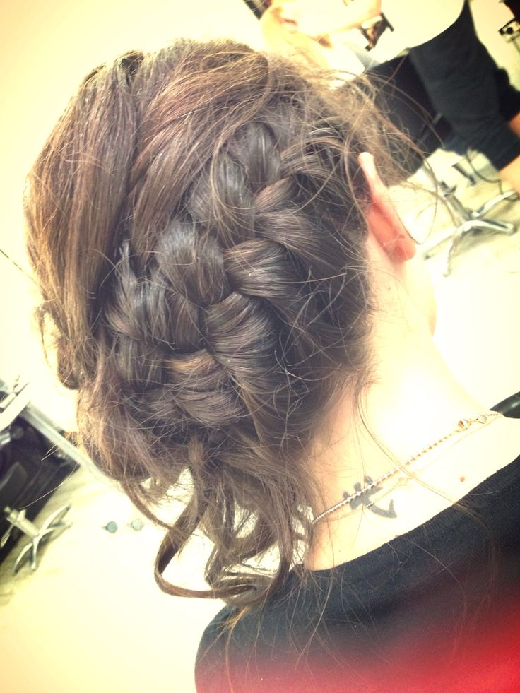 Brown braid