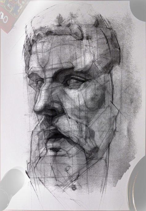 ArtStation - Traditional drawing, Aleksey Tishchenko