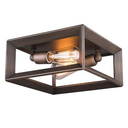 Modern Geometry Flush Mount Ceiling Light