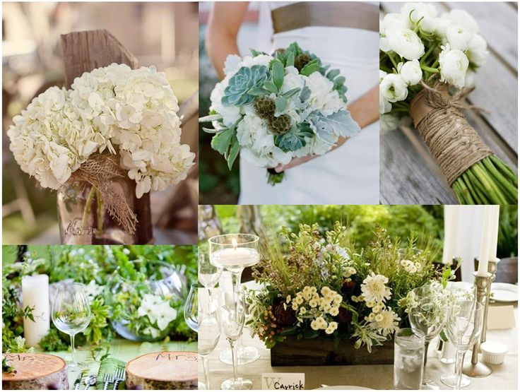 D coration mariage bucolique chic id es et d 39 inspiration - Decoration champetre campagne ...