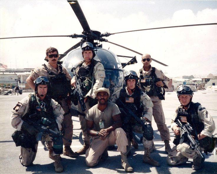 "1st SFOD-D and 160th SOAR ""Nightstalkers"" in Mogadishu 1993 [21601737]"