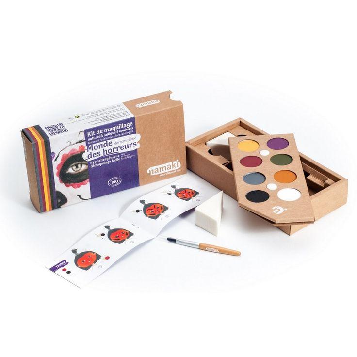 Kit Maquillage Enfant 8 couleurs Monde des horreurs