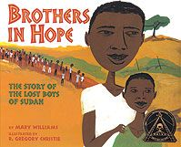 The story of the Lost Boys of Sudan, thousands of young boys driven by war from their home in Sudan to Ethopia and, finally, Kenya.