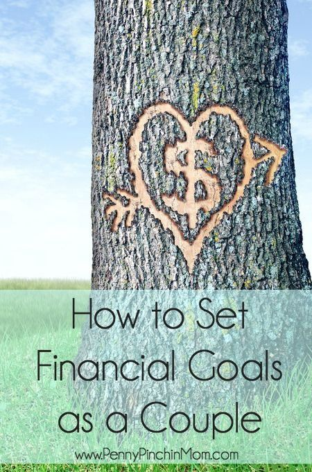How to Set Financial Goals as a Couple. When you are not working towards the same goal, you will never be able to succeed financially. I have goals.  My partner has goals.  How do we merge our ideas? Organizing family, marriage, money, and life.