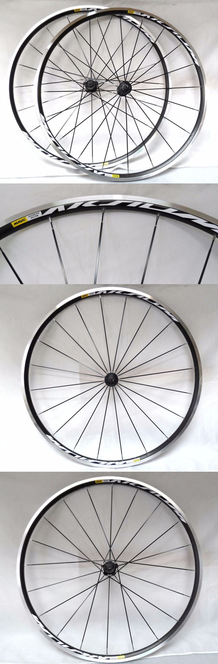 Wheels and Wheelsets 177830: Mavic Aksium Elite 700C Road Bicycle Wheelset, 11 Speed, Qr Front And Rear New! -> BUY IT NOW ONLY: $189.99 on eBay!