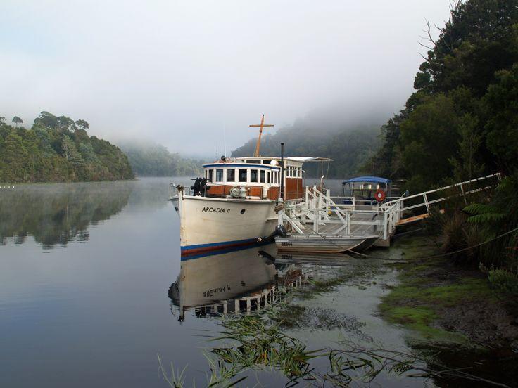 Sailing the Pieman River
