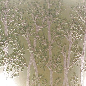 Tree Stencils - Wall to Wall Stencils Products  raised design  with stencil paste!!!!  ♥
