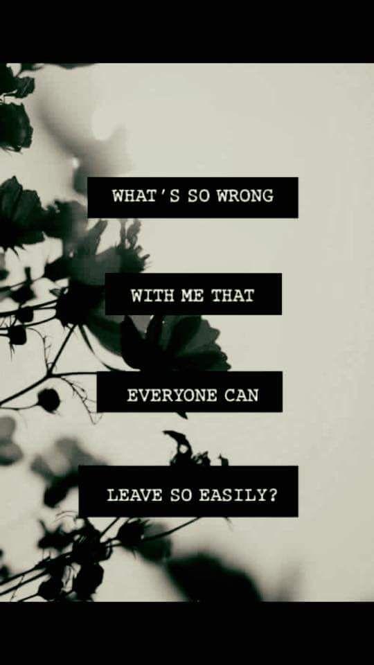 17 Best Images About Self Harm Depression Suicide: 17 Best Left Me Quotes On Pinterest