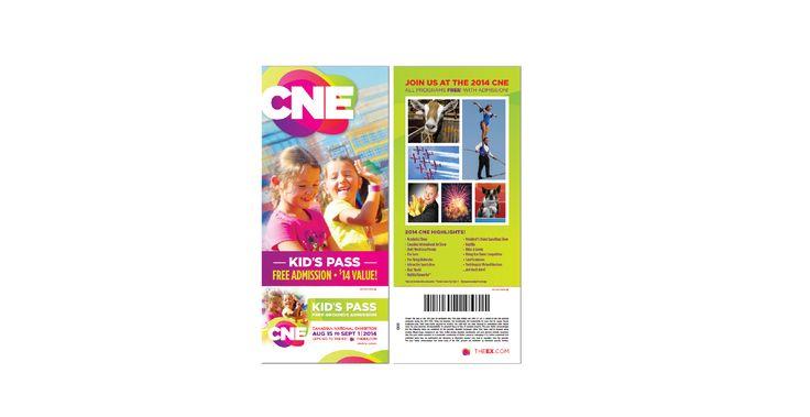 Kids Pass - CNE 2014