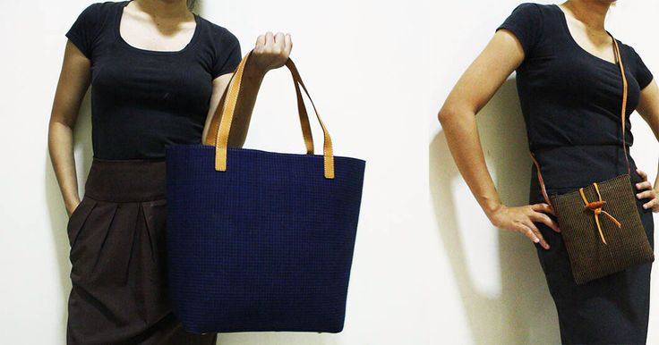 The Charm of Lurik Beauty, Damayanti Tote Bag & Agni Pocket Bag.