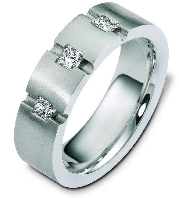 diamond wedding band itemc124891pp by weddingbandscom men wedding ringsdiamond - Mens Wedding Rings With Diamonds