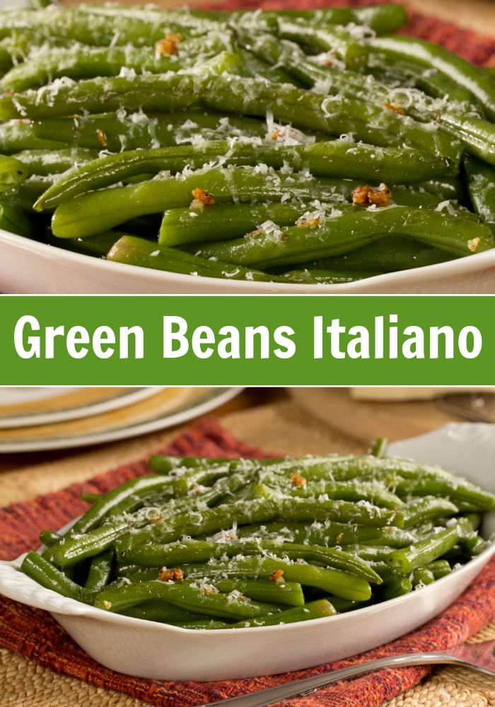 This recipe for Green Beans Italiano pairs perfectly with your favorite main dishes!