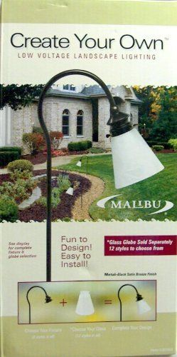 LANDSCAPE / PATHWAY LOW VOLTAGE LIGHTING / GLOBE NOT INCLUDED by Intermatic. $9.99. THESE ARE A CREATE YOUR OWN STYLE THIS KIT INCLUDES STAND, AND BULBS ONLY.   GLOBES SOLD SEPERATLY