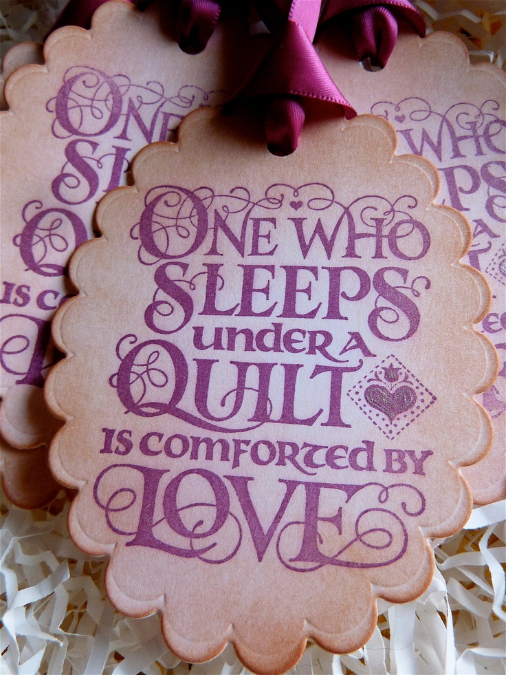 personalized jewelry Quilting Love Label for my gifts   Need to purchase a die for these  Bree