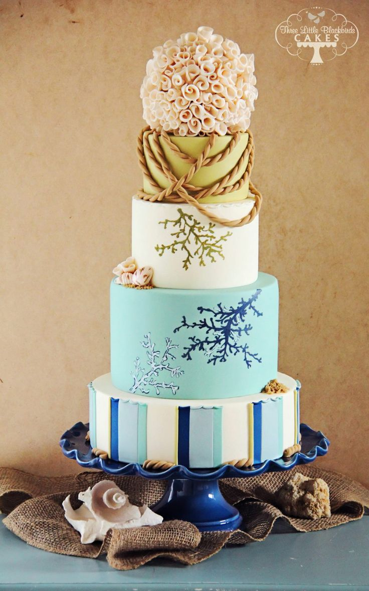 89 best Wedding Cakes and Dessert tables images on Pinterest | Cake ...