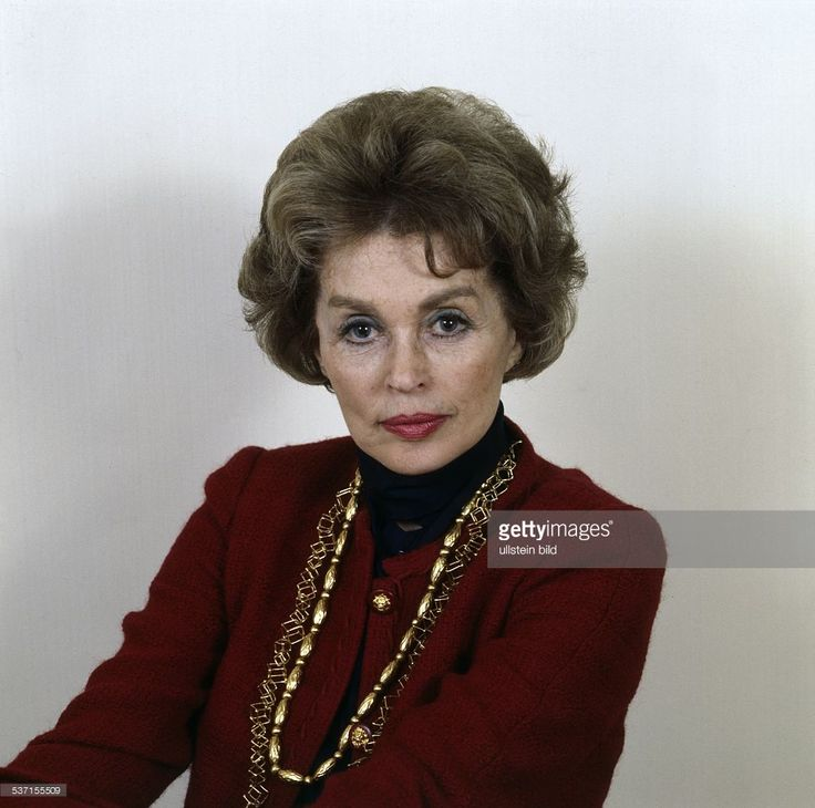 Lilli Palmer Actress Germany 1970 My Other
