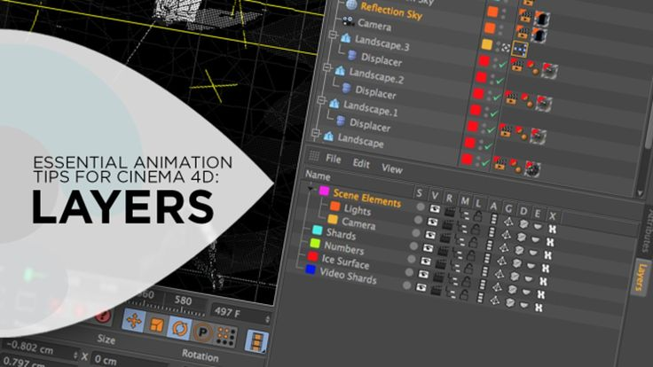 Essential Animation Tips for Cinema 4D: Layers. In this tutorial I'll be covering one of the most overlooked features for organization and v...