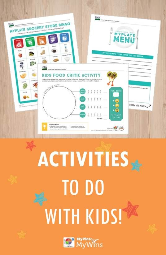 Looking for fun ways to teach kids about healthy eating? Try these activities!