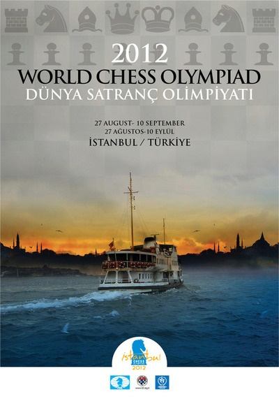 Poster Chess Olympiad Istanbul