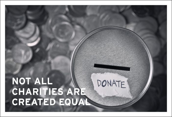 Not All Charities Are Created Equal - Borden Communications